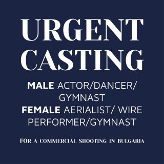 ***URGENT CASTING CALL*** Please check out our latest casting call! Looking for male and female talent for a commercial! For full details check out the link in the bio on how to apply!!!   #casting #commercail #talent #agent #castingdirector #london #europe #internationalcasting #dance #gymnast #actor #wirework #agent