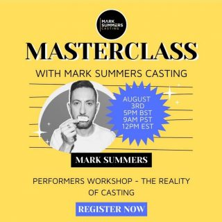 ***LAST CHANCE TO BOOK***  Check out our classes over at www.mark summers.com/classes   #class #classes #education #learning #acting #marksummerscasting #castuk #actors #learnforthefuture