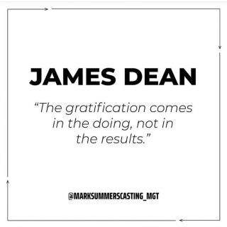 Monday again! Here's a quote to set you up for the weeek from a true legend- what's everyone up to this week? ✨🖤• #quote #inspiration #love #london #agency #casting #model #actor #jamesdean