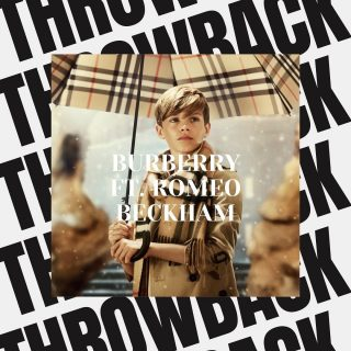 THROWBACK THURSDAY ⚡️  @burberry campaign we shot a while ago featuring David Beckhams georgous boy Romeo! We loved how this shoot turned out- What do you think? 🙌🏻  #marksummerscasting #marksummers #castingdirectors
