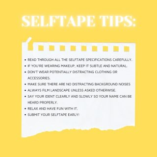 ✍🏼🎬 SELF TAPE TIPS   From the team @marksummerscasting 👋🏼   Drop your tips below 🔽  #marksummers #marksummerscasting #castingcall #castingtips